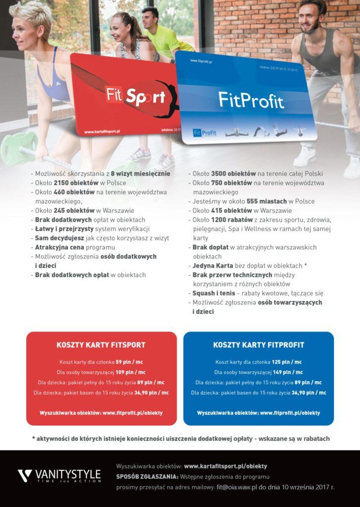 Propozycja Przystapienia Do Programu Fit Sport Badz Fitprofit