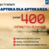 """4 lata """"APTEKI DLA APTEKARZA"""" – najważniejsze fakty dot. regulacji – raport NIA"""